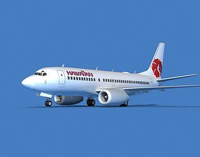 3D Boeing 737 MAX 7 Hawaiian Airlines