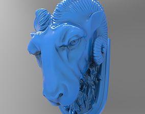 Kozel head 3D print model