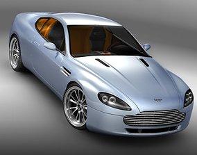 3D model Aston Martin v8