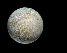 3D asset Dust Planet
