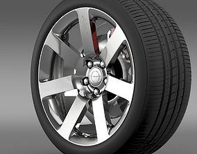 Chrysler 300 SRT8 wheel 3D model