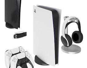Playstation 5 Digital Edition 3D