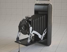 3D model Kodak Antique Folding Camera