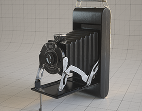 3D model Kodak Antique Folding Camera
