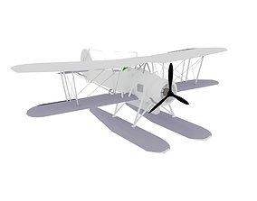 AIRCRAFT TSWOR biplane 3D
