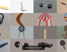 3D model Sports Pack