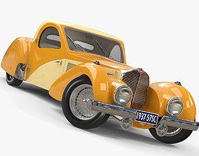 3D 1937 Bugatti Type 57SC Atalante