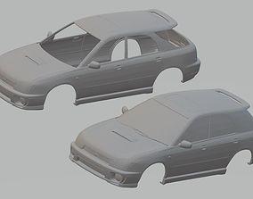 rc Subaru Impreza Wagon Printable Body Car
