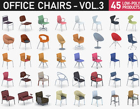Office Chairs Collection Vol 3 3D asset