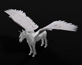3D model Pegasus Rigged