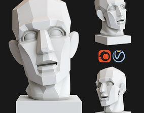 3D model Gypsum Head Chopping by Gudon