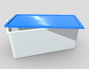 3D model realtime Food Container 3