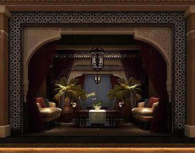 3D Business Restaurant - Coffee - Banquet 165