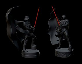 Darth Vader Star Wars Jedi STL OBJ by CG 3D print model