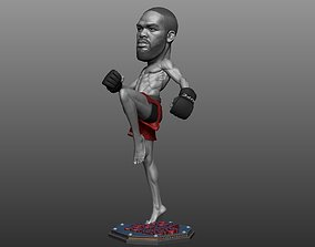 Jon Jones 3D printable model