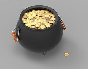 3D Pot of Gold interior