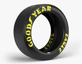 3D model Goodyear Eagle Tire sidewall