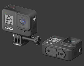travel 3D model GoPro HERO 8 Black Edition