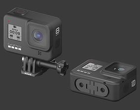 3D model GoPro HERO 8 Black Edition
