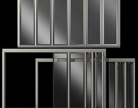 3D Glass Sliding Partition Walls Doors