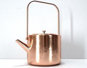 3D model Stainless Copper Tea Kettle