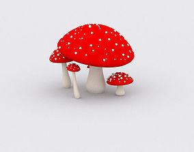 Mushroom other 3D asset realtime
