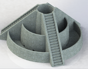Circular Pyramid - 2 model versions