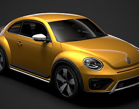 VW Beetle Dune 2020 3D model