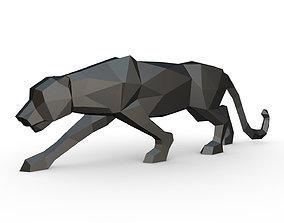 3D print model Black panther figure
