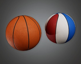 3D asset Basketball 01a - Sports And Gym