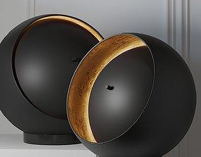 Oluce EVA 216 Table Lamp 3D
