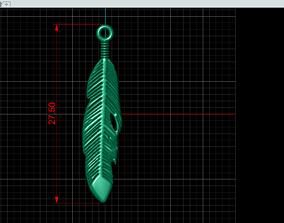3D print model Bird feather