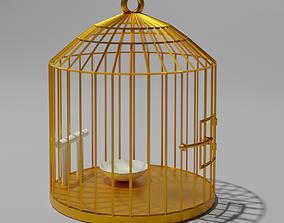 3D model Golden Cage