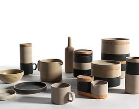 3D model Hasami Tableware