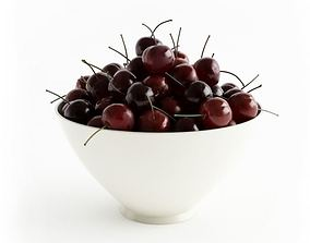 Cherry In A Bowl 3D