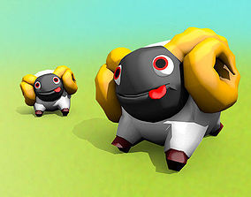 3D asset animated Sheep