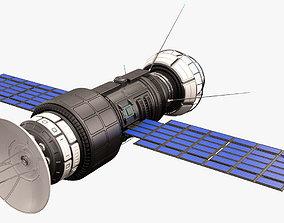 Sci Fi Satellite 05 3D