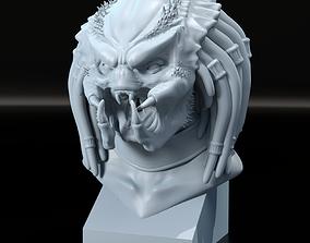 Predator Bust 3D print model alien