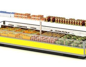 Food Display Center 3D