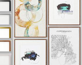 Art Frams 35- Copenhagen Map By Daydream And Synergy 3D