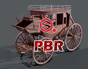 Carriage 3D asset