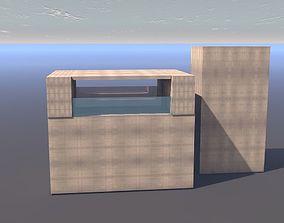 3D model architectural buildings