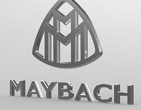 model 3D maybach logo