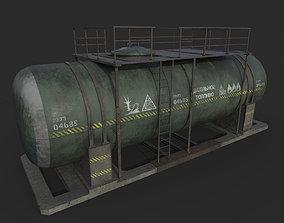 Fuel Tank Diesel 3D asset