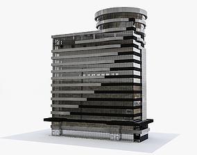 3D Modern Office Building reconstruction