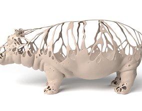 3D model Hippo Dust Voronoi