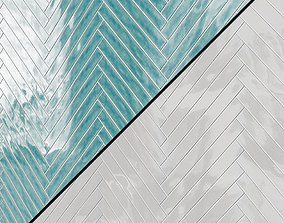 Carolina Polished Ceramic Tile 3D