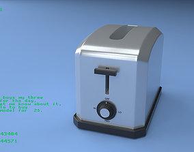 Toaster 1 3D
