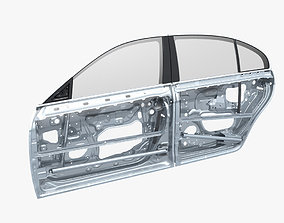 Car Door Structure 03 3D