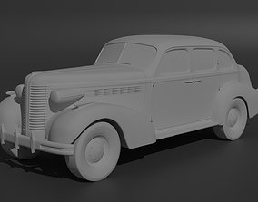 Buick Special 1938 3D print model coupe
